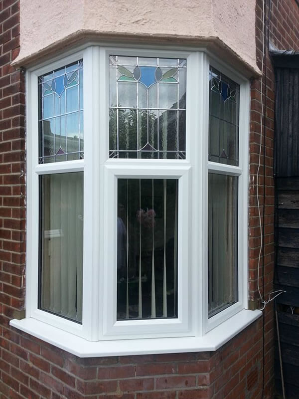 1930 s leaded crittal style windows upgraded to energy for Energy efficient bay windows