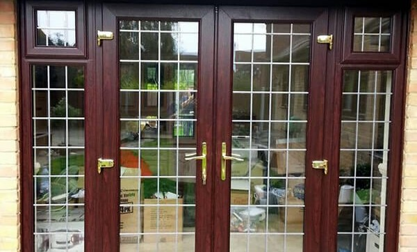 New rose wood french doors - Cleaver Windows & Doors