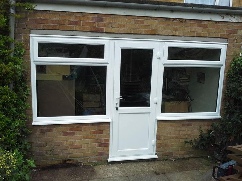 Upvc window door combination replacement cleaver for The new window company