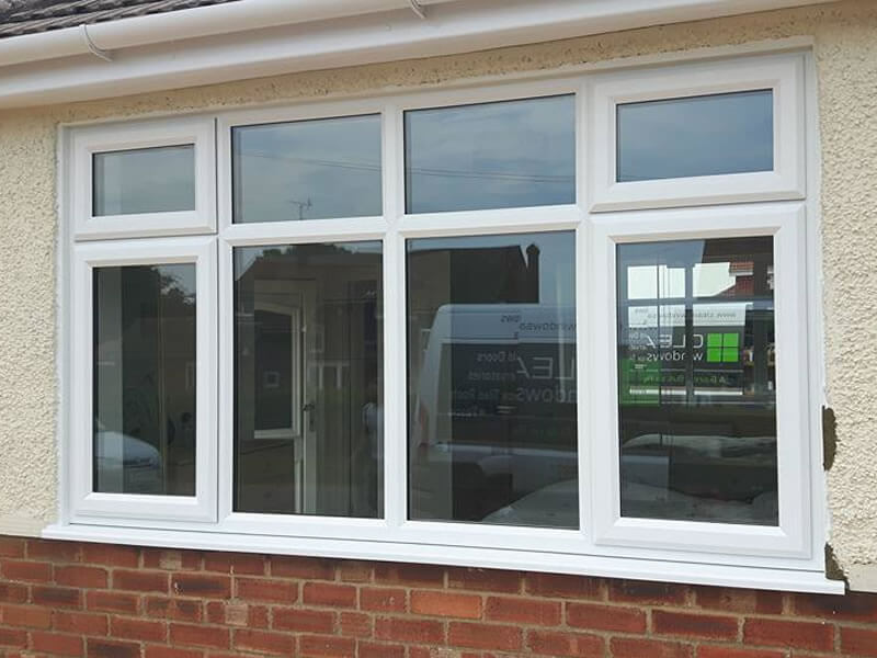 Old Upvc Windows Replaced With More Modern Style Amp Fire