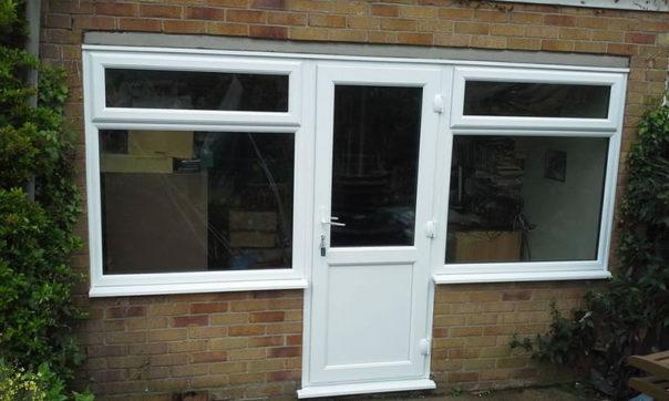 UPVC window & door combination replacement