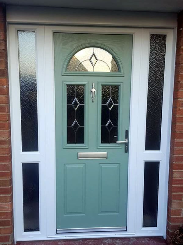 finest selection 80f0b bb9b8 Old tired 1950's door replaced with a beautiful Chartwell ...